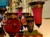 Beautiful glass lanterns at Ani Ancient Stone - New York, N.Y.