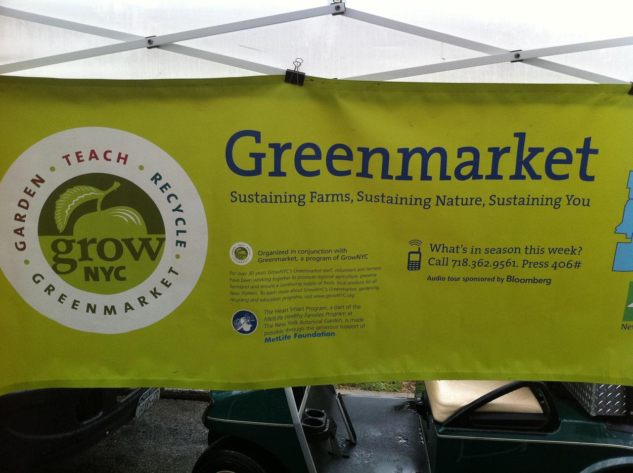 NYBG Greenmarket