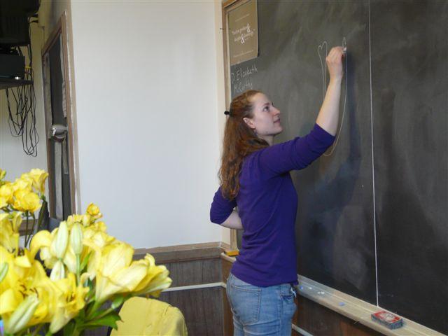 Elizabeth teaching