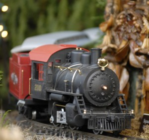Holiday Train Show Locomotive