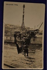 Hoisted in Mollendo