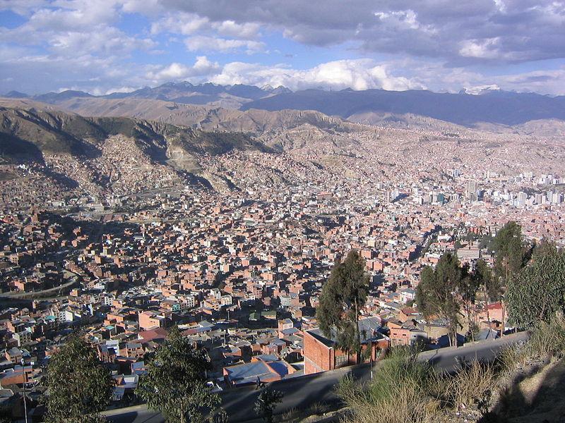 La Paz, Bolivia—modern day