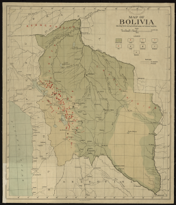 Bolivia Resource Map