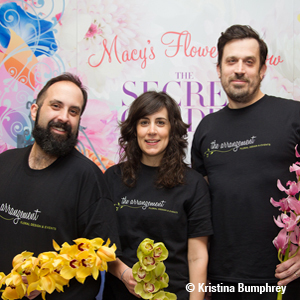 Left to right: Tom Sebenius and his business partners, Nicole Spector and Brian McNamara.