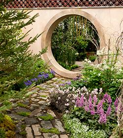Groundbreakers Mrs. Rockefeller's Garden Moon Gate