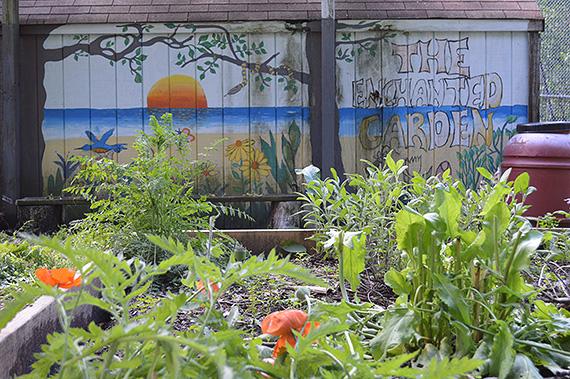 JFK High School Enchanted Garden