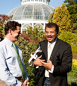 neil degrasse tyson apple tree nybg todd forrest