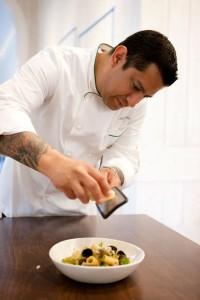 Hudson Garden Grill Executive Chef Julian Alonzo