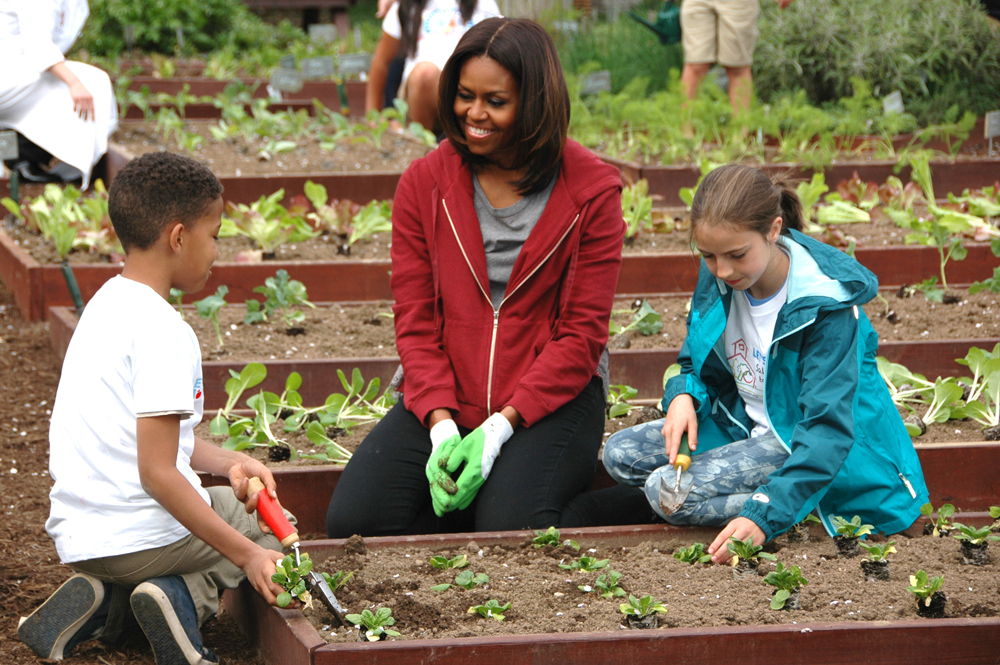 Planting The White House Kitchen Garden With Michelle Obama Plant Talk