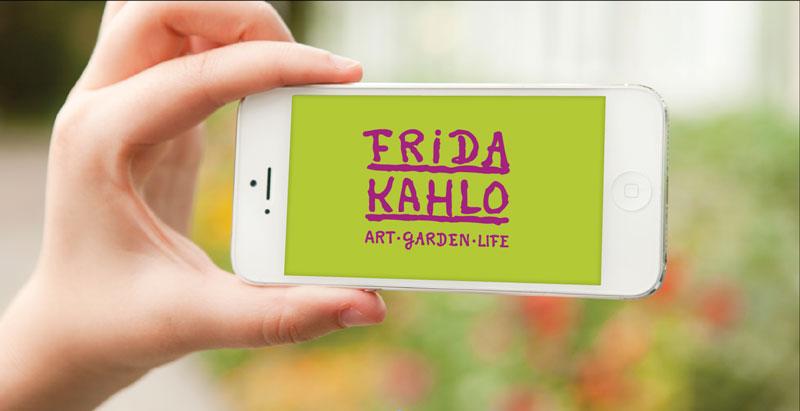 Frida Kahlo Art Garden Life NYBG mobile guide