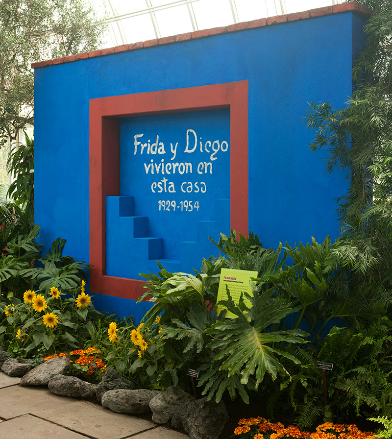 Casa Azul NYBG Frida Kahlo New York Botanical Garden