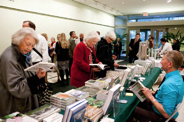 NYBG publications were available for purchase in the Ross Gallery before the film premiere.