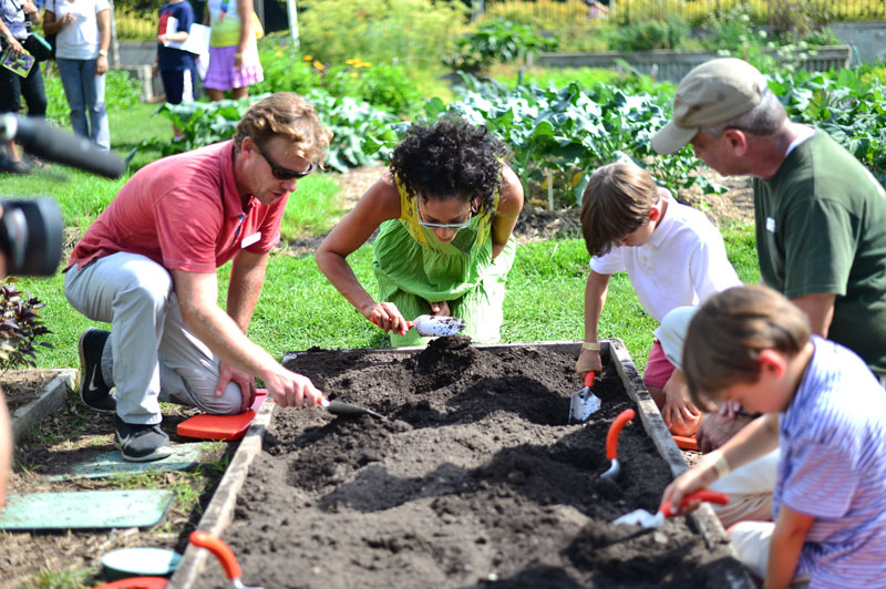 Leading Chefs and Organic Gardening At This Year\'s Family Garden ...