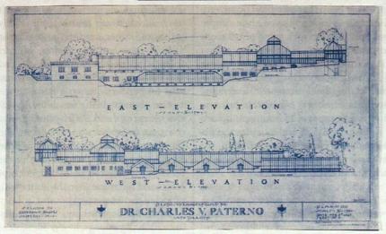 Rendering of Charles V. Paterno glasshouse