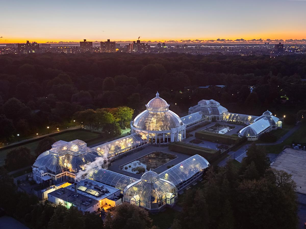 New York Botanical Garden Enid A Haupt Conservatory