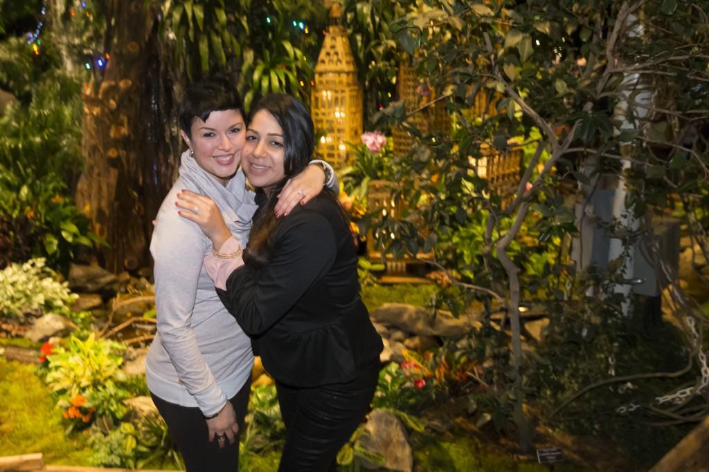 Maritza and Angelica