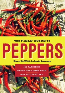 The Field Guide to Peppers by Dave DeWitt & Janie Lamson, 307 pp. Timber Press.