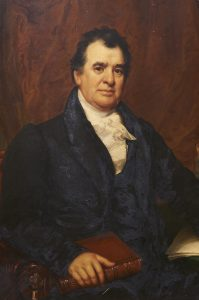 David Hosack (1769–1835), in a portrait by Samuel Waldo and William Jewett, 1831. NYBG, LuEsther T. Mertz Library, Art and Illustration Collection.