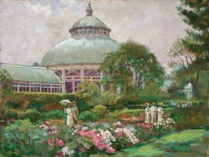"James Gurney, ""Garden Walk"""