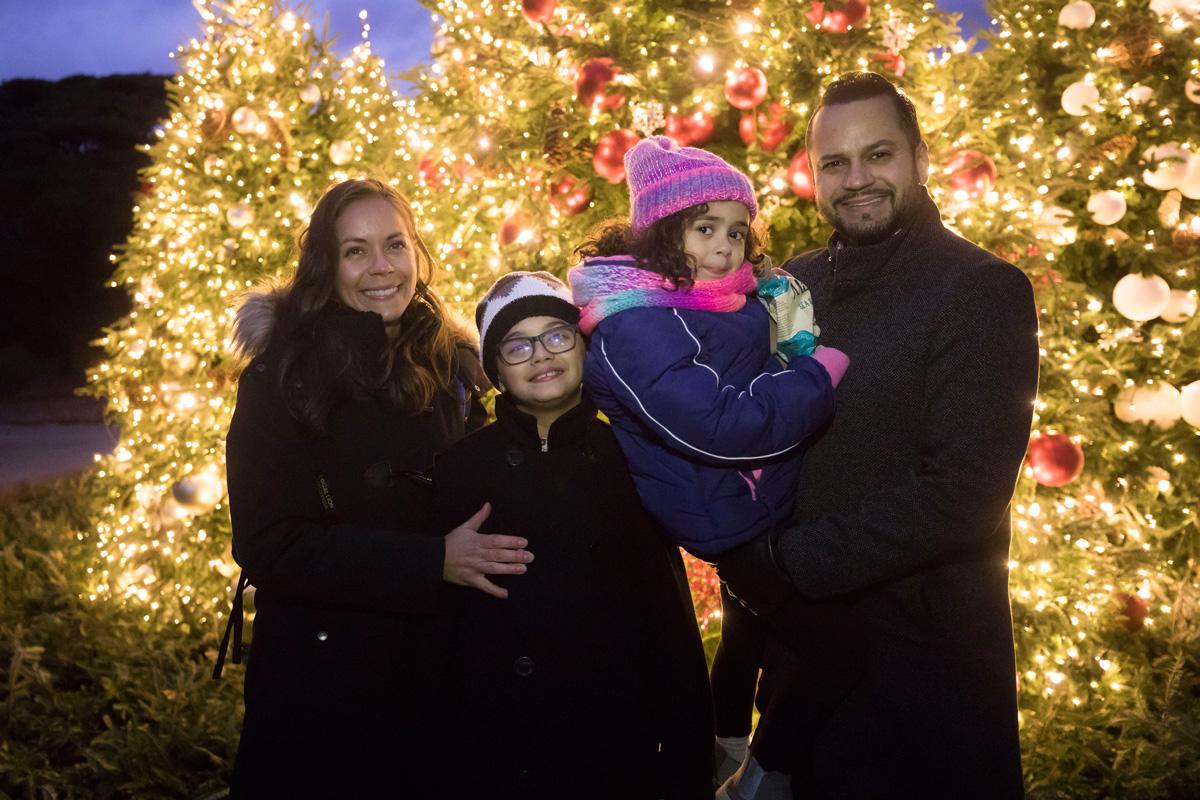 Senator José Serrano and family