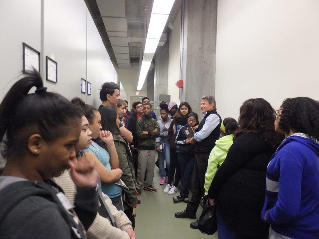 Bronx students visit the Garden