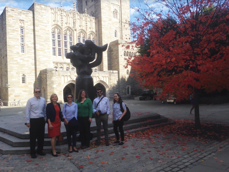 Students on the Princeton-Mellon Trip