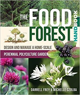 "The cover of ""The Food Forest."""