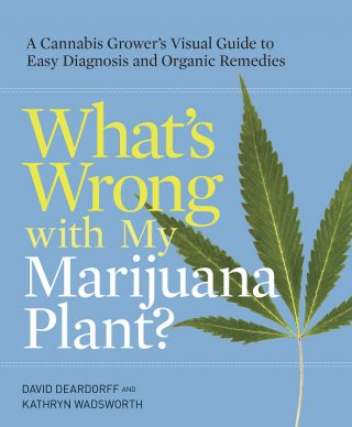 "The cover of ""What's Wrong with My Marijuana Plant?"""