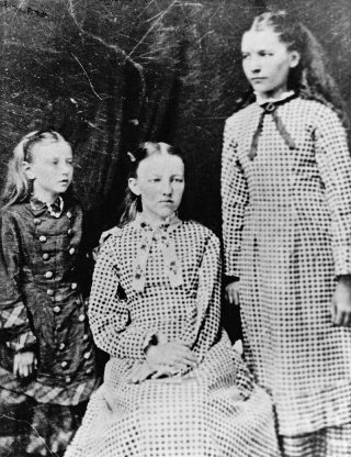 Carrie, Mary, and Laura Ingalls Wilder