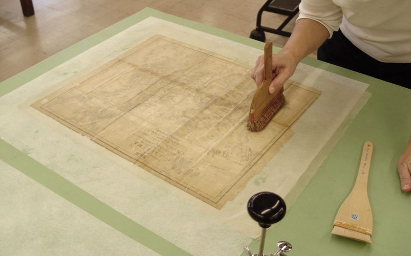 Map during treatment - lining 2