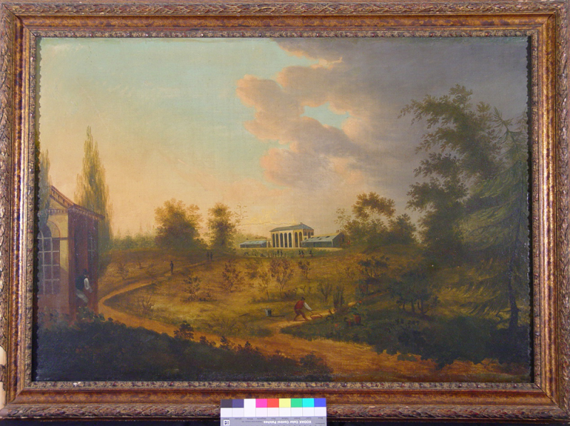 Painting of Elgin Botanic Garden