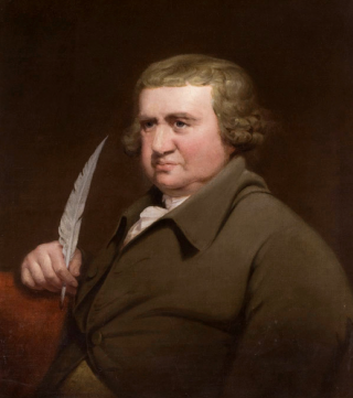 Painting of Erasmus Darwin