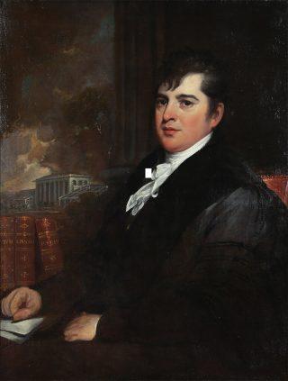 Portrait of David Hosack