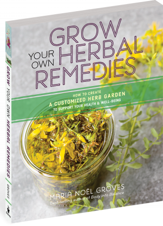 Cover of Grow Your Own Herbal Remedies