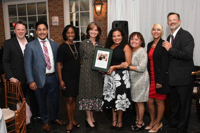 Photo of guests and award-winners at Fiesta de Flores