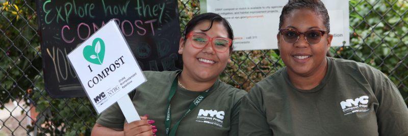 Photo of Bronx Green-Up volunteers