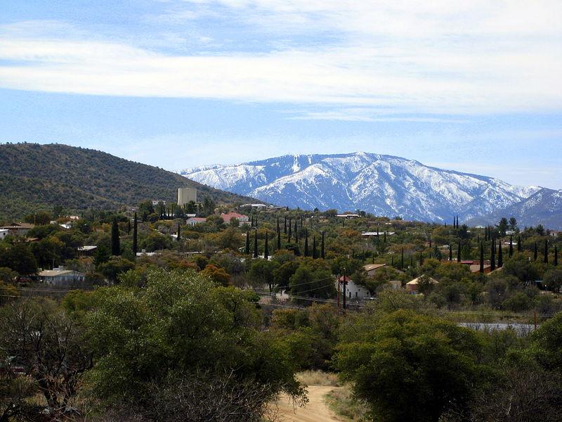 Mt. Lemmon as seen from Oracle, AZ
