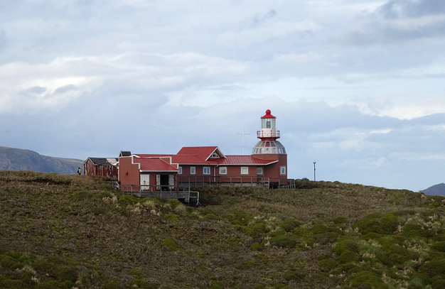 The Cape Horn lighthouse