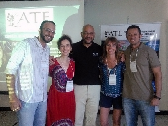 From left to right: Dr. Thiago Araujo (BR), Dr. Ina Vandebroek (USA), Dr. Ulysses Albuquerque (BR), Dr. Ana Ladio (AR), Dr. Romulo Alves (BR)