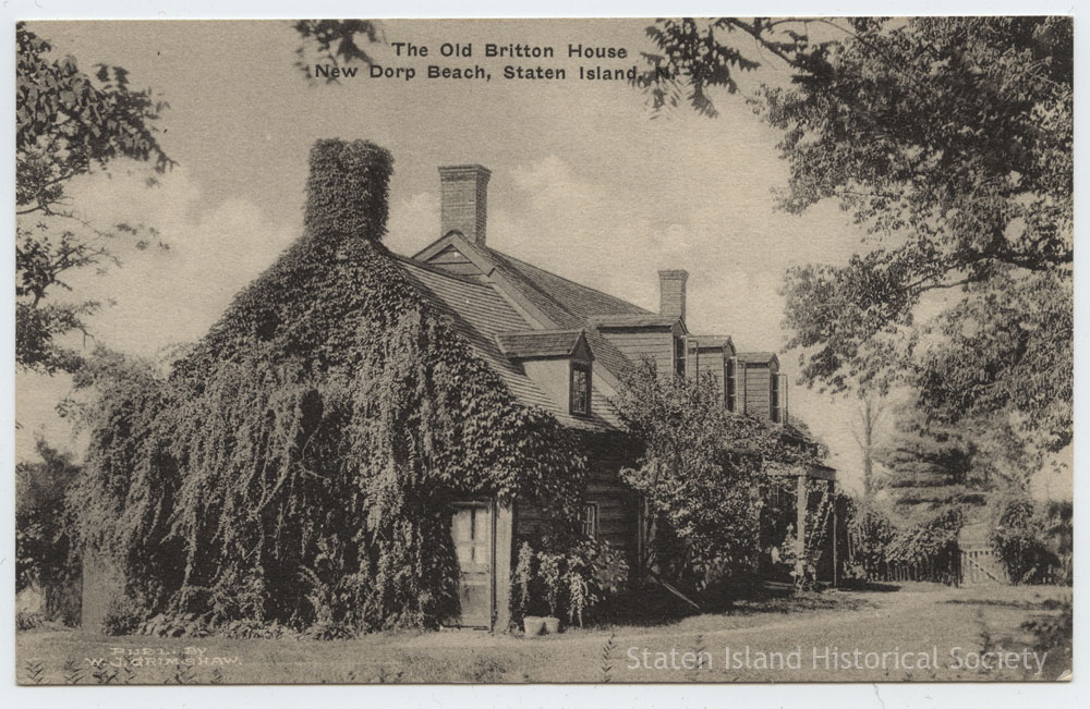 Nathaniel Lord Britton Cottage Historic Richmond Town Staten Island Historical Society
