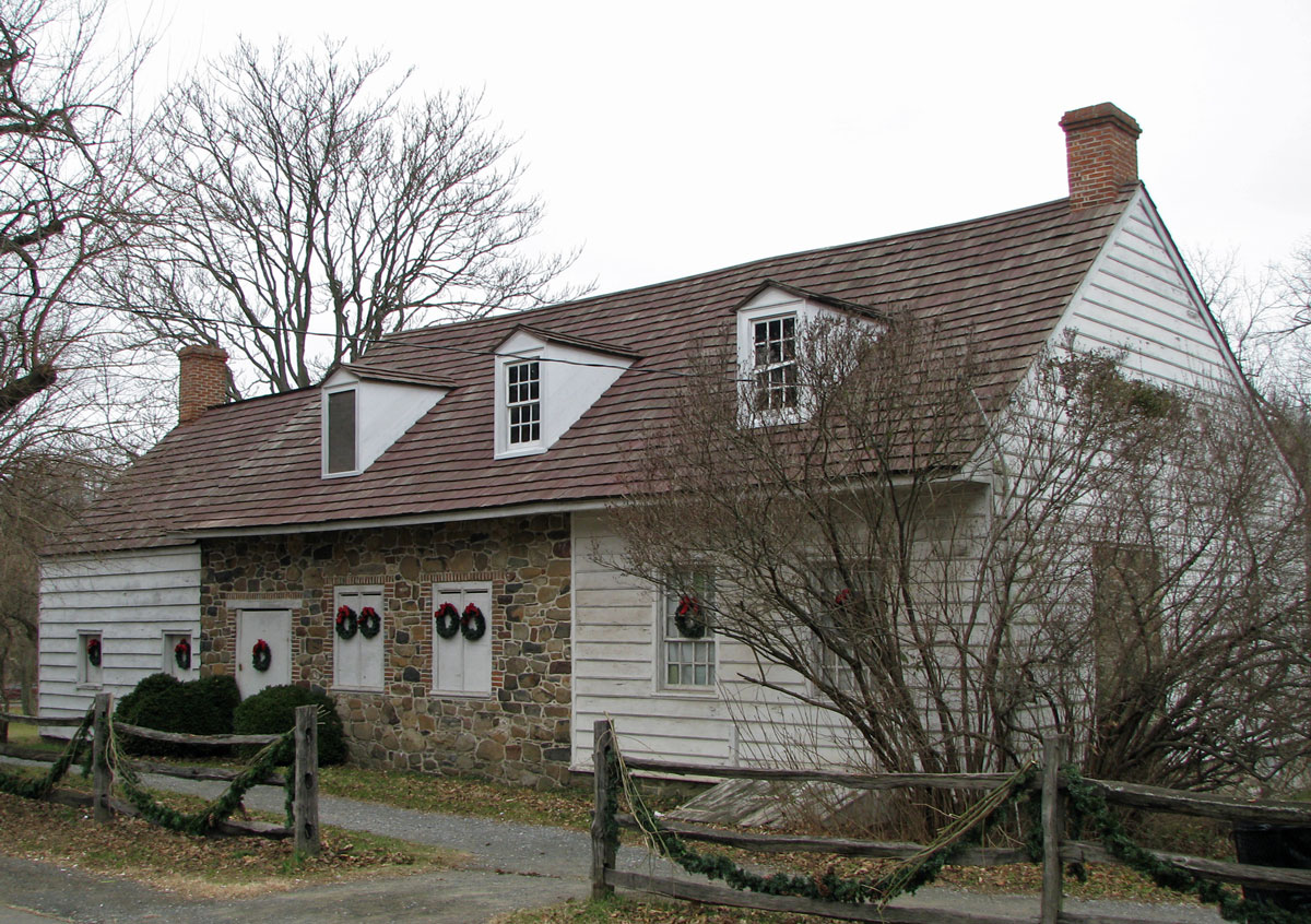 Nathaniel Lord Britton Cottage Historic Richmond Town Staten island