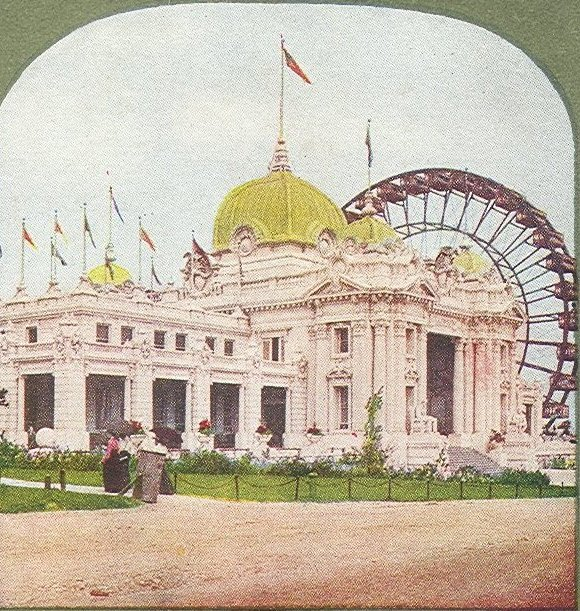 Stereoscope images of the 1904 St. Louis World's Fair, courtesy of Wikimedia Commons,