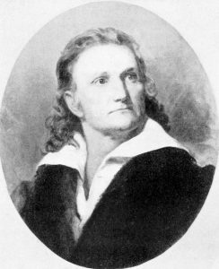 From the 1833 portrait of John James Audubon by Henry Inman. Courtesy of Wikimedia Commons.