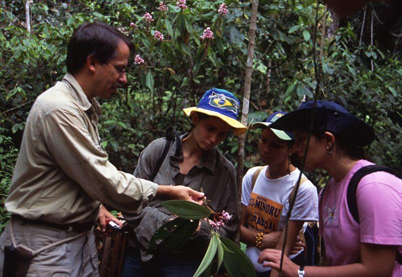Photo of Doug Daly in the Amazon