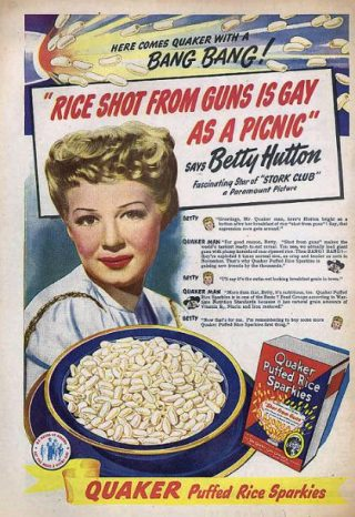 Photo of a Puffed Rice Advertisement