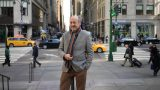 Billy Collins in New York City. Photo by Bill Hayes.