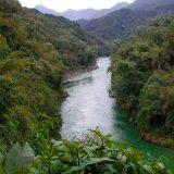 A river runs through a forest in Myanmar.Rainforest