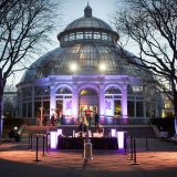 Conservatory at night event