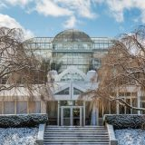 The Enid A. Haupt Conservatory in Winter