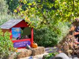 Children's Garden, puppet theatre, fall